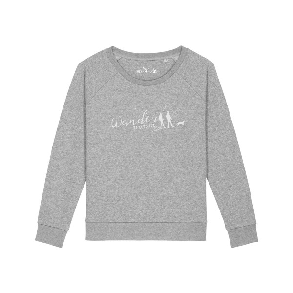 Pullover | Fair Wear | BIO | Motiv: Wanderwoman