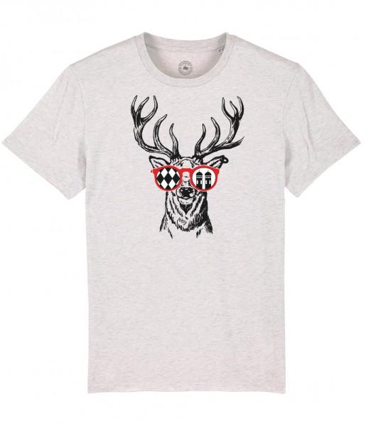 Herren Shirt Rundhals   Fair Wear   Motiv: Munich Deer