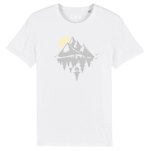 Herren Shirt Rundhals | Fair Wear | BIO | Motiv: Dahoam