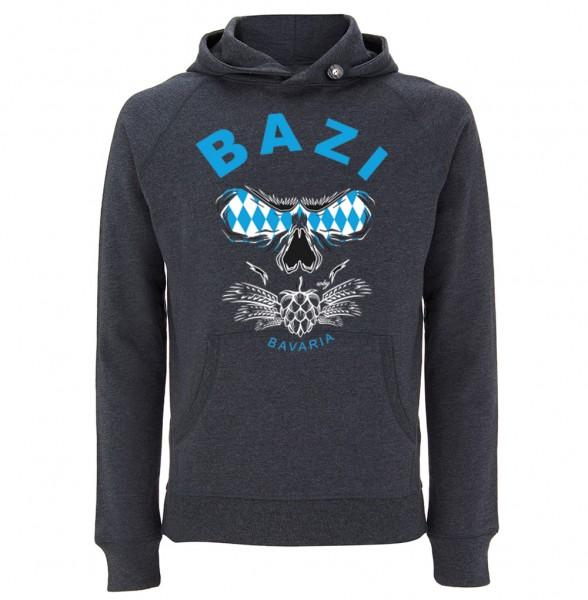 Trachtenhoodie Herren (Unisex) | Fair Wear | Motiv: Bazi