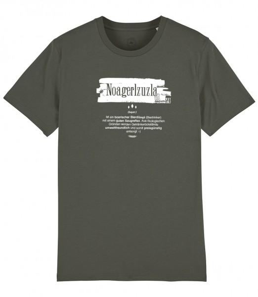 Herren Shirt Rundhals | Fair Wear | Motiv: Noagerlzuzla