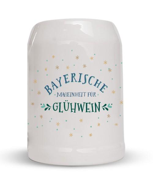 Glühweinkrug - Bayerische Maßeinheit für Glühwein