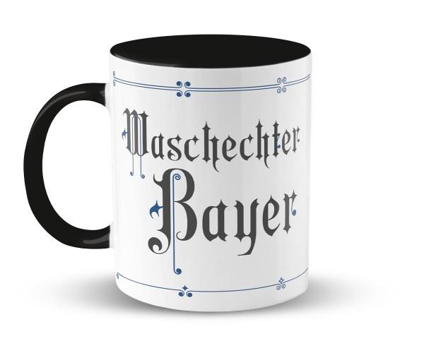 Kaffeetasse Fraktur Waschechter Bayer | Bedruckt | Personalisiert |