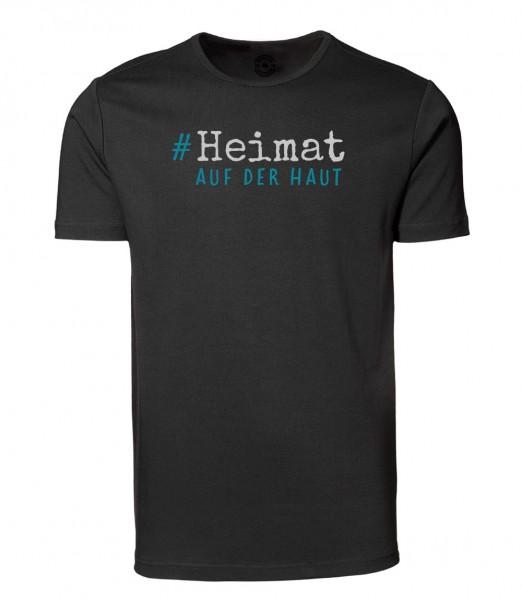 Herren Rundhals Shirt | Kurzarm – Interlock Jersey Motiv: Heimat