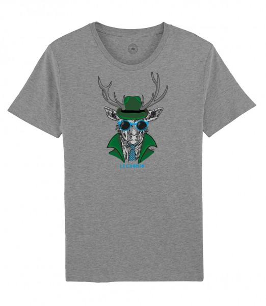 Herren Shirt Rundhals | Fair Wear | Motiv: Leckomio