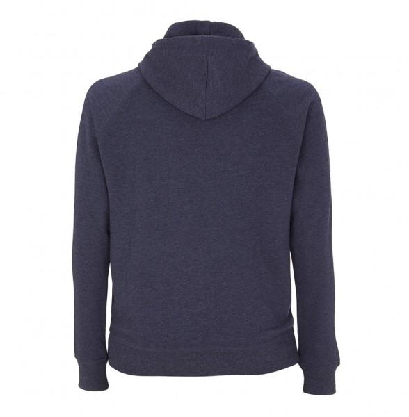 Trachtenhoodie Herren (Unisex) | Fair Wear | Motiv: Wildfang blau
