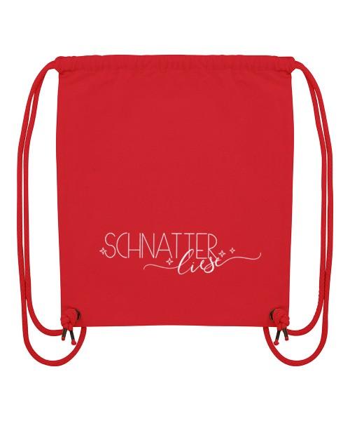 Beuteltasche | Gym Bag | Turnbeutel | Fair Wear | Nachhaltig | Motiv: Schnatter Liese