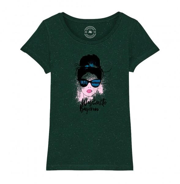 Damen Rundhals T-Shirt | Fair Wear | Motiv: Wilde-Hilde