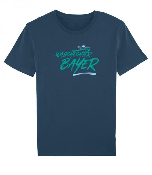 Herren Shirt Rundhals | Fair Wear | Motiv: Bayern Berg