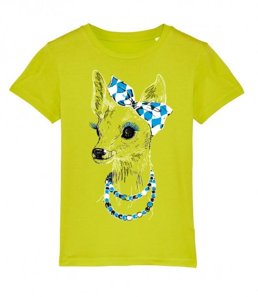 Shirt Mädels | Fair Wear | Motiv: Boarische Bixn