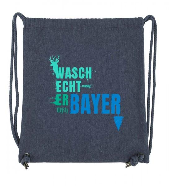 Beuteltasche | Gym Bag | Turnbeutel | Fair Wear | Nachhaltig | Motiv: Dreier-Pack no.2