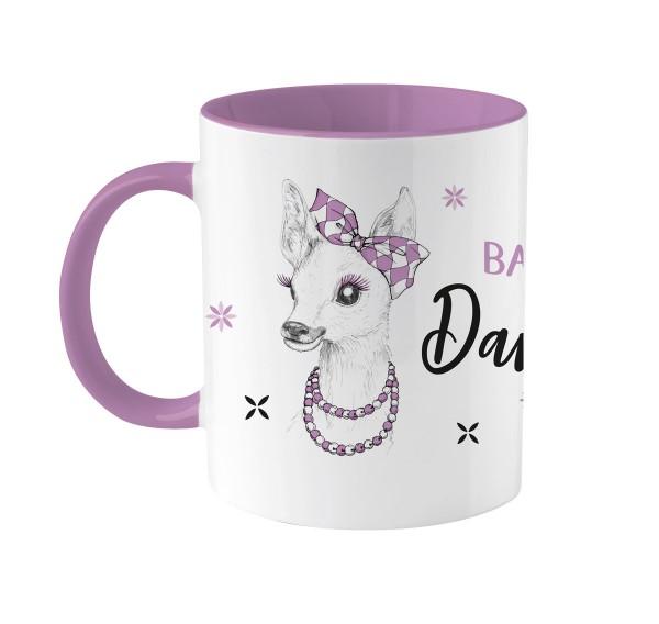 Kaffeetasse Bixn | Bedruckt | Personalisiert | rosa