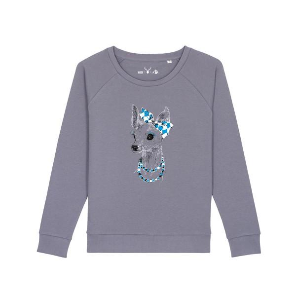 Pullover | Fair Wear | BIO | Motiv: Boarische Bixn