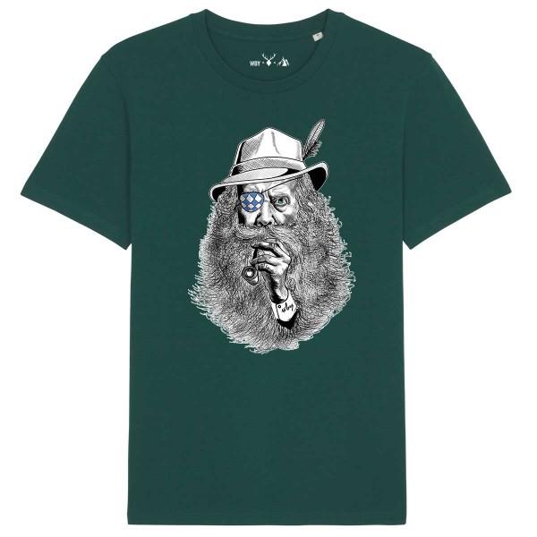 Herren Shirt Rundhals | Fair Wear | BIO | Motiv: Seppl-Peter No. 2