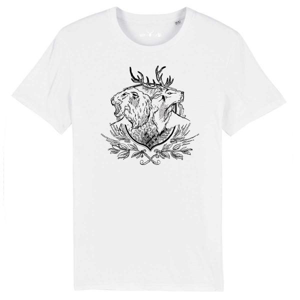 Herren Shirt Rundhals | Fair Wear | BIO | Motiv: Wappen