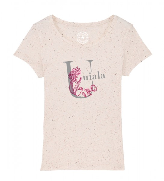 Damen Rundhals T-Shirt | Fair Wear | BIO Motiv: Uiala