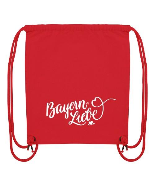 Beuteltasche | Gym Bag | Turnbeutel | Fair Wear | Nachhaltig | Motiv: Bayernliebe