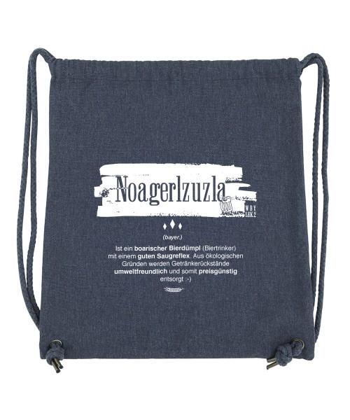 Beuteltasche | Gym Bag | Turnbeutel | Fair Wear | Nachhaltig | Motiv: Noagerlzuzla