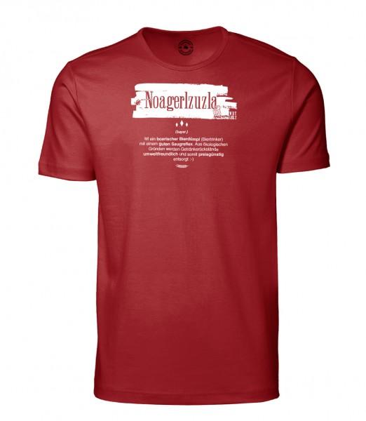 Herren Rundhals Shirt   Kurzarm – Interlock Jersey Motiv: Noagerlzuzla