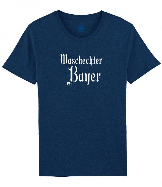 Herren Shirt Rundhals   Fair Wear   Motiv: WBY-Fraktur
