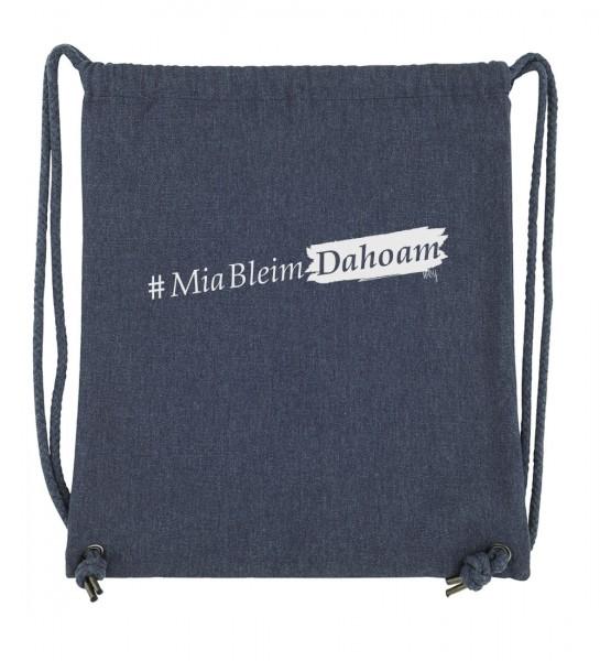 Beuteltasche | 300 g/m² Hochwertig | Fair Wear | Nachhaltig | Motiv: #MiaBleimDahoam