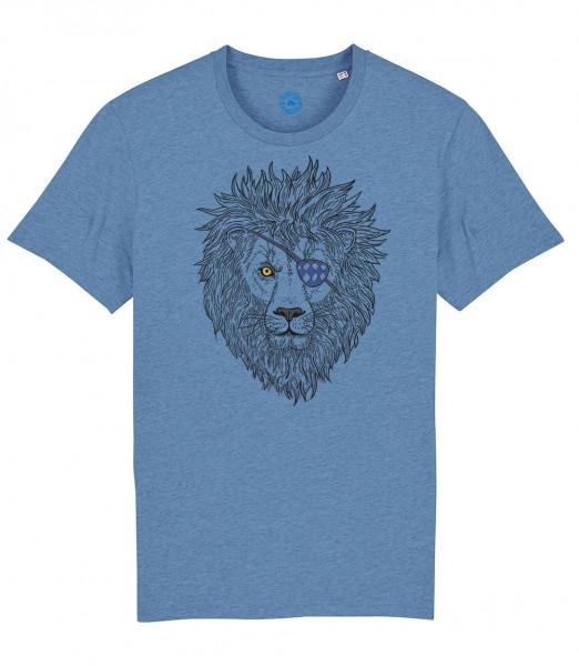 Herren Shirt Rundhals   Fair Wear   Motiv: Lumpi-Leo