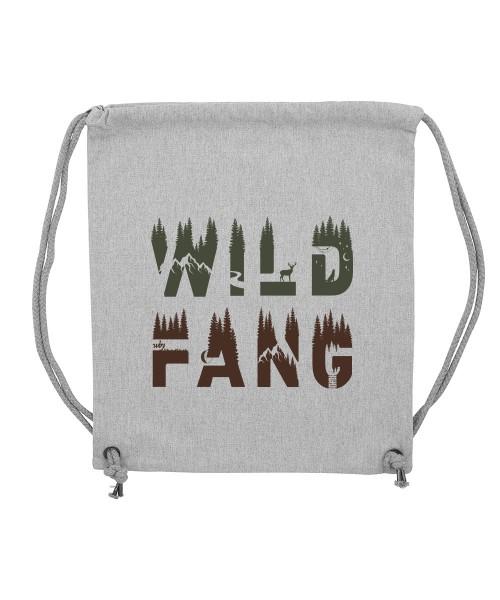 Beuteltasche | Gym Bag | Turnbeutel | Fair Wear | Nachhaltig | Motiv: Wildfang