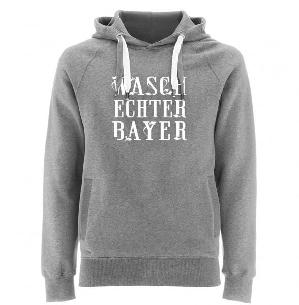 Kapuzenpullover Herren | Fair Wear | Motiv: Dreier-WBY