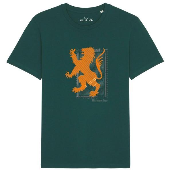 Herren Shirt Rundhals | Fair Wear | BIO | Motiv: Orange-Stamp