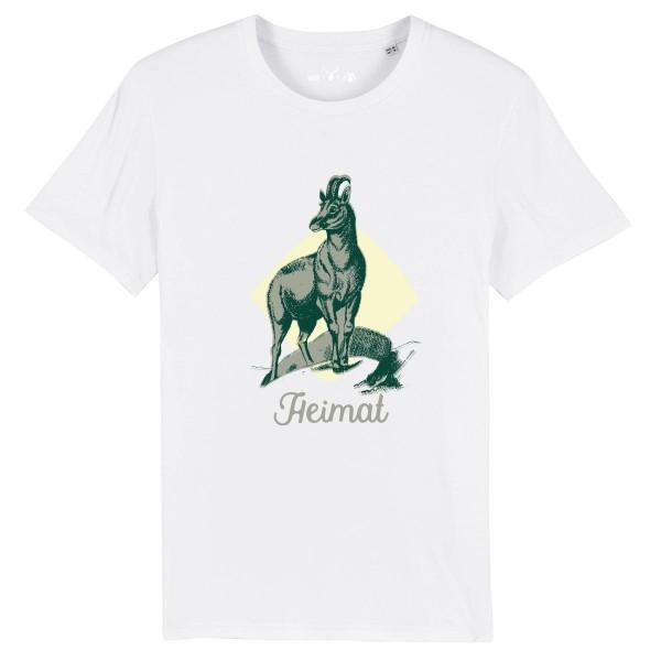 Herren Shirt Rundhals | Fair Wear | BIO | Motiv: Gams-Toni