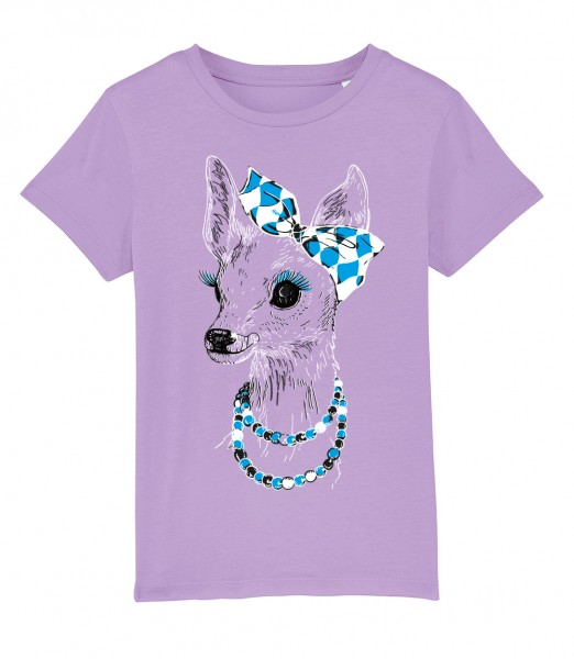 Shirt Mädels   Fair Wear   Motiv: Boarische Bixn