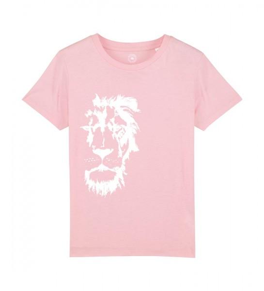 Shirt für Jungs & Mädels   Unisex-Schnitt   Fair Wear   Motiv: Löwenmut