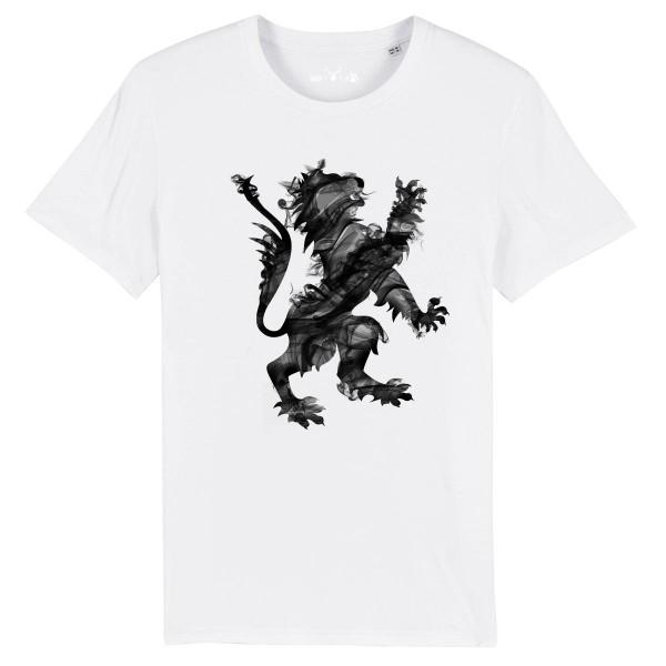 Herren Shirt Rundhals | Fair Wear | BIO | Motiv: Smokey-Lion