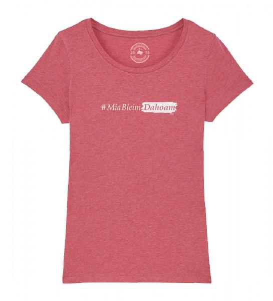 Kinder Shirt Rundhals | Fair Wear | BIO | Motiv: #MiaBleimDahoam