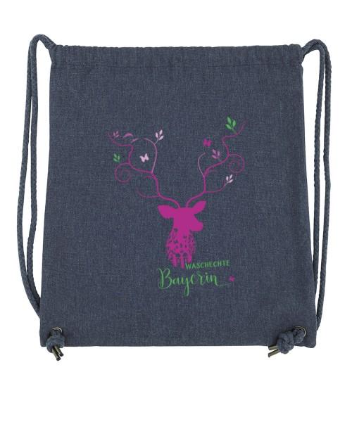 Beuteltasche   Gym Bag   Turnbeutel   Fair Wear   Nachhaltig   Motiv: Keila