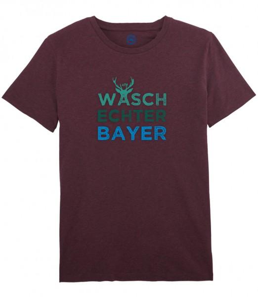 Herren Shirt Rundhals | Fair Wear | Motiv: Logo-Bert