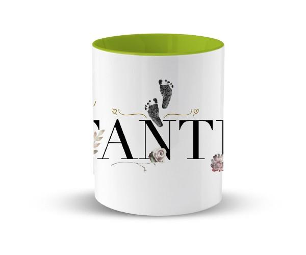 Tasse Keramik Geschenk | in 2 Farben | Motiv: Coolste Tante