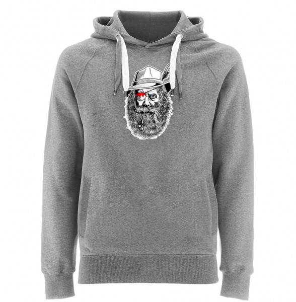 Kapuzenpullover Herren | Fair Wear | Motiv: Franken Seppl
