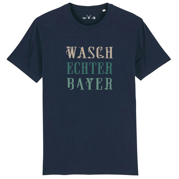 Herren Shirt Rundhals | Fair Wear | BIO | Motiv: Logo-WBY