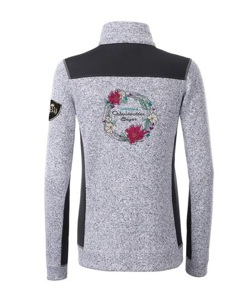 Kombijacke Strickfleece & Softshell Damen   280 g/m²   Motiv: Look of Love