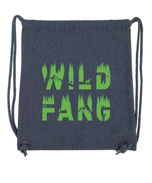 Beuteltasche   Gym Bag   Turnbeutel   Fair Wear   Nachhaltig   Motiv: Wildfang