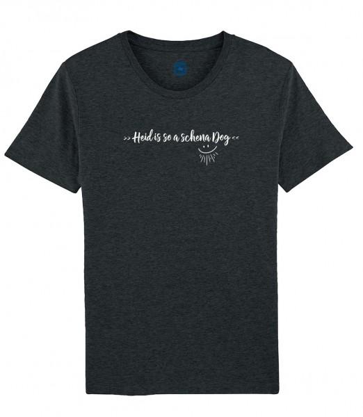 Herren Shirt Rundhals | Fair Wear | BIO | Motiv: So a scheena Dog
