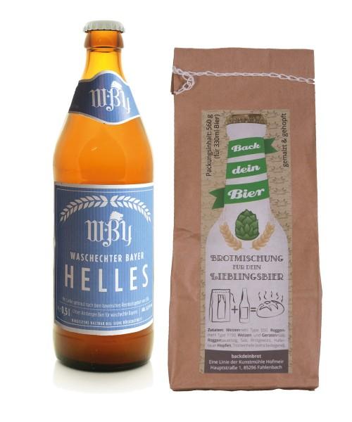 Back dein Brot - Geschenkset - Waschechter Bayer Bier