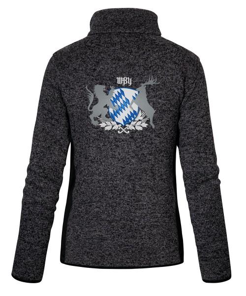Stehkragenjacke mit traditionellem Motiv: Bayern-Wappen Größe S-3XL