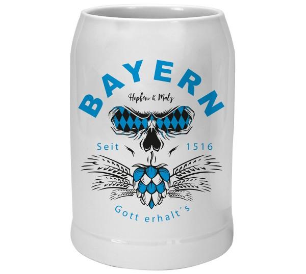 Bierkrug Hopfen & Malz – Personalisierbar