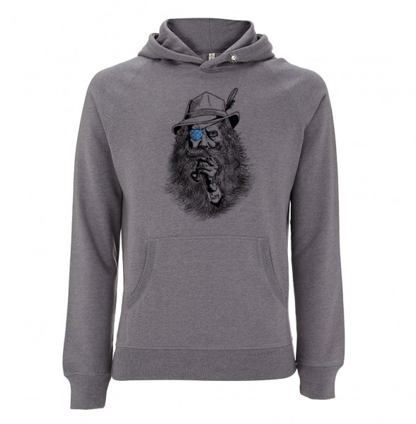 Trachtenhoodie Herren (Unisex) | Fair Wear | Motiv: Seppl