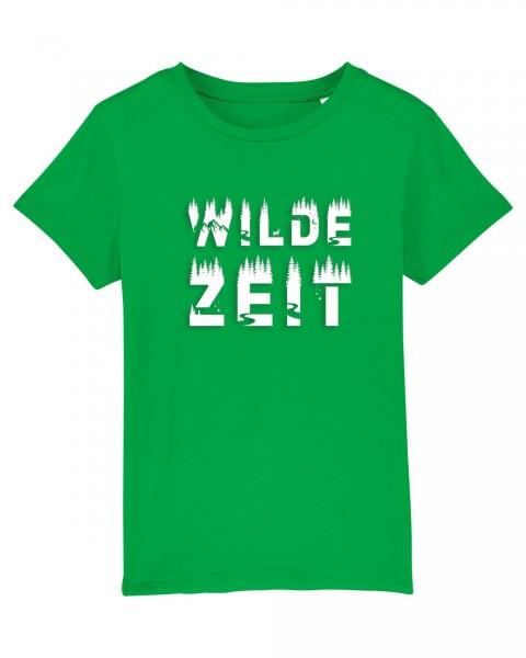 Shirt für Jungs & Mädels | Unisex-Schnitt | Fair Wear | Motiv: Wilde-Zeit