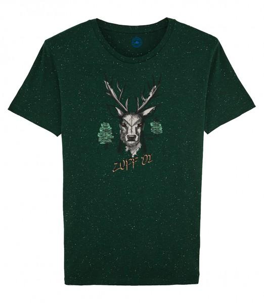 Herren Shirt Rundhals | Fair Wear | Motiv: Zupf di