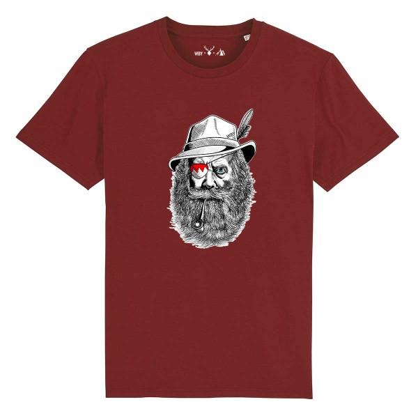 Herren Shirt Rundhals | Fair Wear | BIO | Motiv: Franken-Sepp