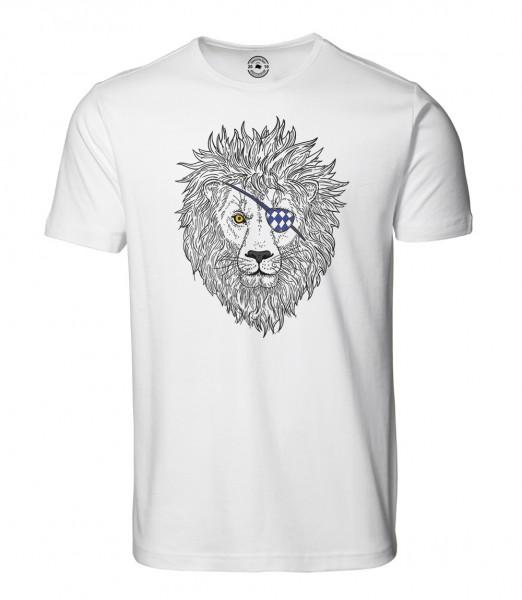 Herren Rundhals Shirt | Kurzarm – Interlock Jersey Motiv: Lumpi-Leo